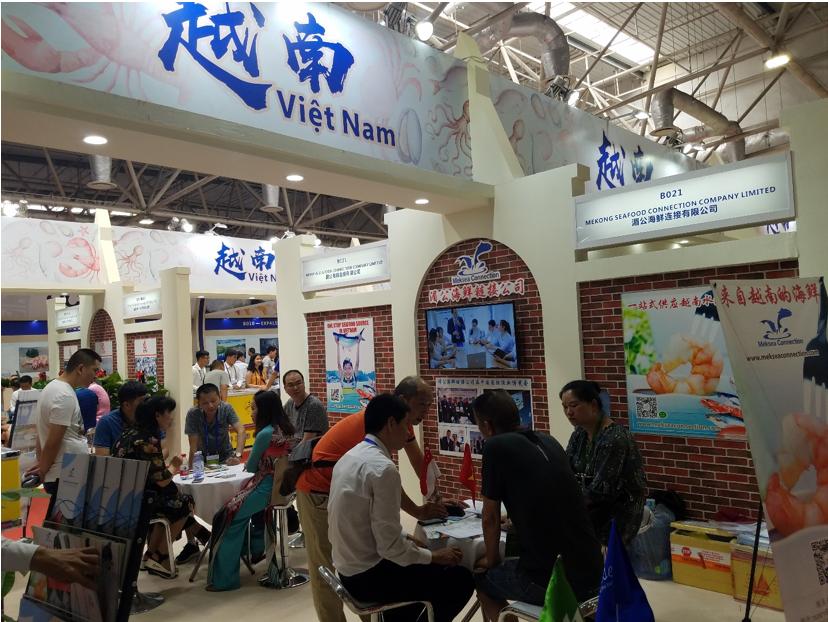 Thư mời: Tham dự Hội chợ triển lãm thủy sản quốc tế  lần VI tại Trạm Giang (Trung Quốc) từ ngày 18 - 20/6/2019